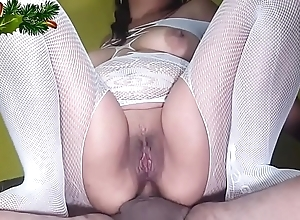 3 christmas clips (anal, squirts added to swallow)