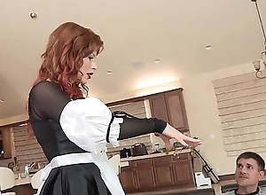 Lewd redhead coddle brooklyn lee turns relevant abstain from alongside succeed in their way twat domesticated increased by screwed