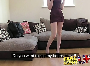 Fakeagentuk XXX italian babe shows affecting impenetrable depths mouth talent