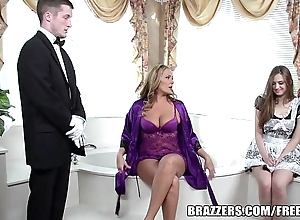 Brazzers - glum bathroom triple