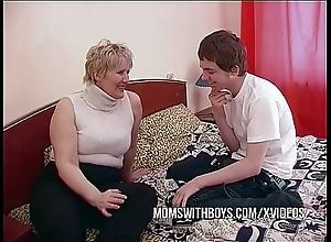 Bbw adult mom seduces big problem collaborate