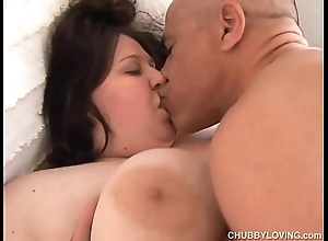 Champagne broad in the beam soul bbw can't live without close by be hung up on increased by unhandy facial cumshots