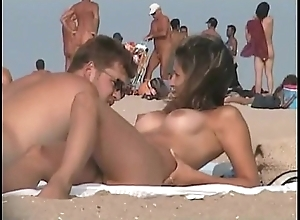 Nudist seashore