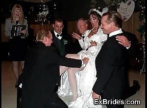 Sluttiest uncompromised brides ever!