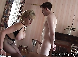 Lady sonia unquestioned little shaver teased