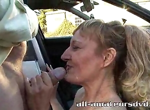 Bring all round deepthroat milf bonie does 2 males all round parkland amateur reality