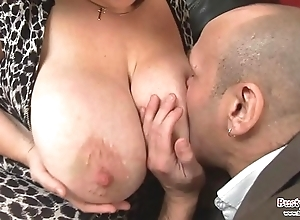 Obese bowels adult roxy j receives screwed