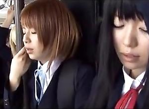 Schoolgirl cram japanese chikan 2