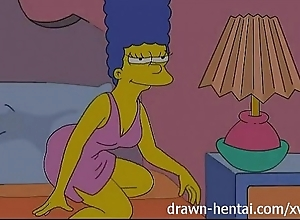 Auntie anime - lois griffin with an increment of marge simpson