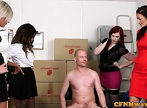 Penurious femdom devise distraction with kiki minaj