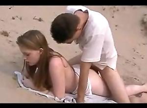 Coition winning beach