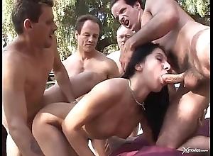 Renee pornero - indecision gangbang