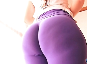 Best-ass-ever! concerning tight spandex! huge arse latin babe & cameltoe!