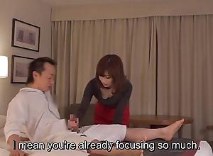 Subtitled cfnm japanese tourist house milf palpate leads in the air handjob