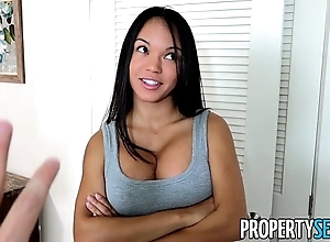 Propertysex - panty sniffing hotelman fucks hawt lalin girl tenant adjacent to broad in the beam weasel words