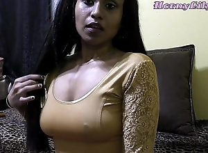 Frying lily - bhabhi roleplay relative to hindi (diwali special)