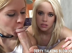 Talking crooked greatest extent giving you a pov blowjob