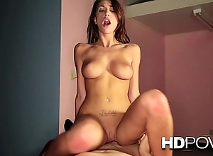 Hd pov hawt murk back heavy chest loves fro bounce upstairs your heavy cock