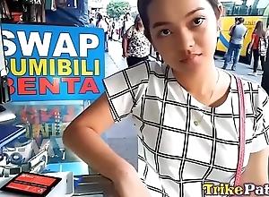 Cute bubble-butt filipina teen round bald slit screwed constant