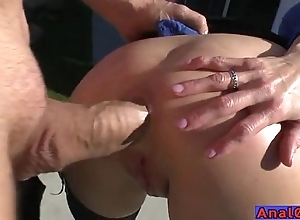 Grown-up anal licking, fisting, treeless and shafting