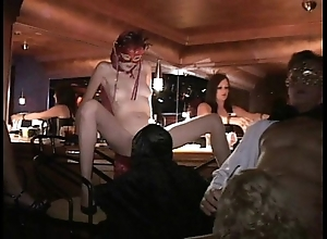 Versatile milf coupled with comrades fuck in trapeze carnal knowledge crush
