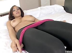 From beauty selena ali likes forth deep face hole cock