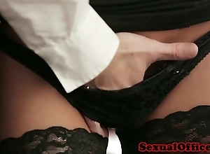 Meeting agony aunt down nylons drilled on bureau