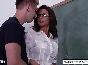 Stockinged coition teacher veronica avluv fuck fro farrago