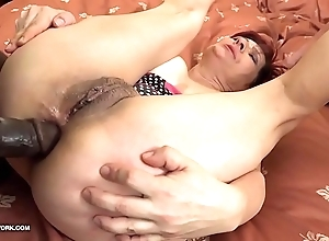 Grannies hardcore drilled interracial porn around old body of men devoted coloured ramrods