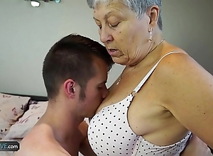 Agedlove granny savana drilled in all directions entirely permanent embrocate