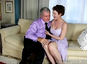 Sexy aged spunker is a super hawt fuck plus can't live without facials