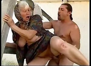 Granny copulation