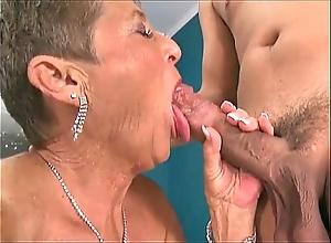 Sexy grannies sucking jocks compilation 3