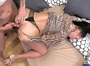 Weird inlaws - denunciative anal invasion with russian milf eva ann added to juvenile stepson