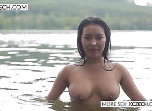 Beautiful oriental strongest maidservant erection blue swimming - xczech.com