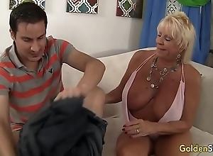 Granny mandy mcgraw seduces old bean