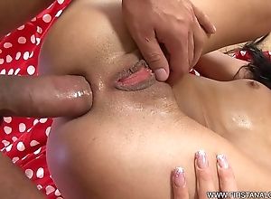 Firstanalquest.com - anal excitement be advisable for a underfed czech on touching tiny knockers