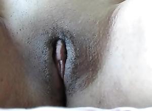 27 era old virgin amateur malediction clamber with advanced closeup