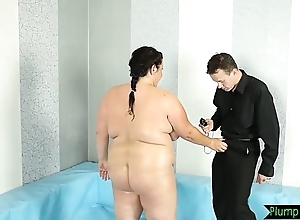 Chubby bigtits belle fucked above eradicate affect floor