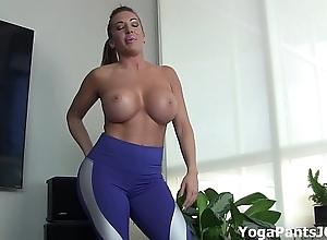 Swing my yoga panties thing u on?