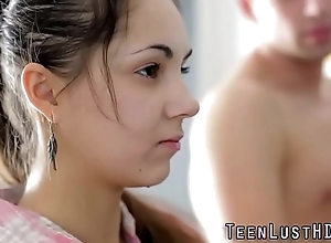 Cute yoga legal age teenager spunked